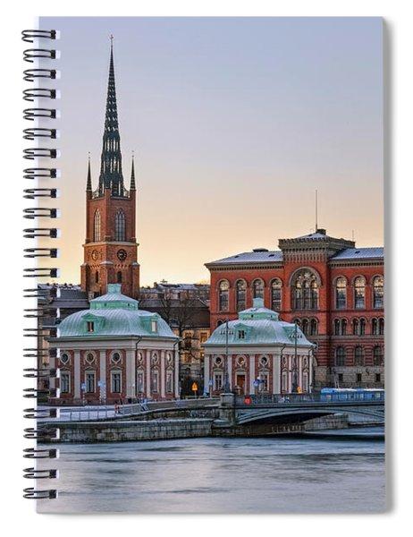 Gamla Stan - Stockholm Spiral Notebook