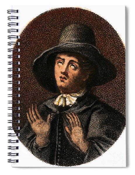 George Fox, 1624-1691 Spiral Notebook