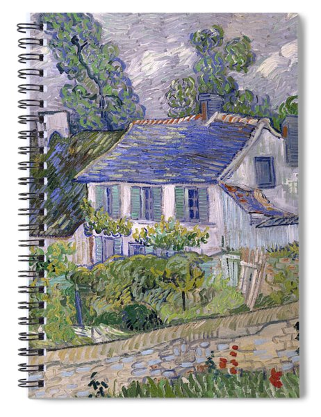Houses At Auvers Spiral Notebook