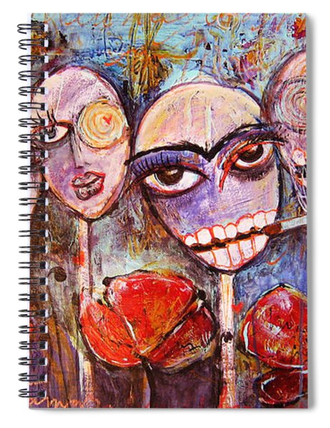 5 Poppies For The Dead Spiral Notebook
