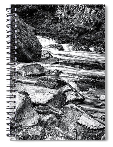 Snowdonia Wales Journey Of Mountains Spiral Notebook