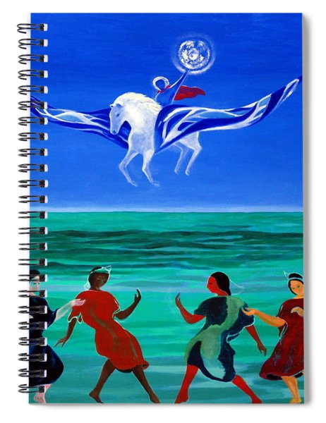 Sons Of The Sun Spiral Notebook