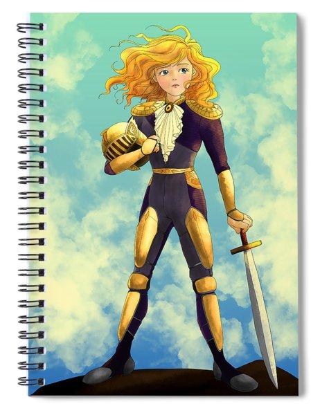 Tammy Wurtherington Freedom Fighter Spiral Notebook