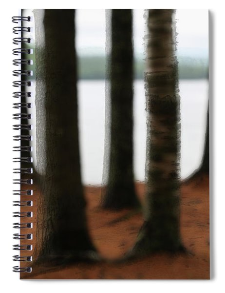5 Trees Spiral Notebook