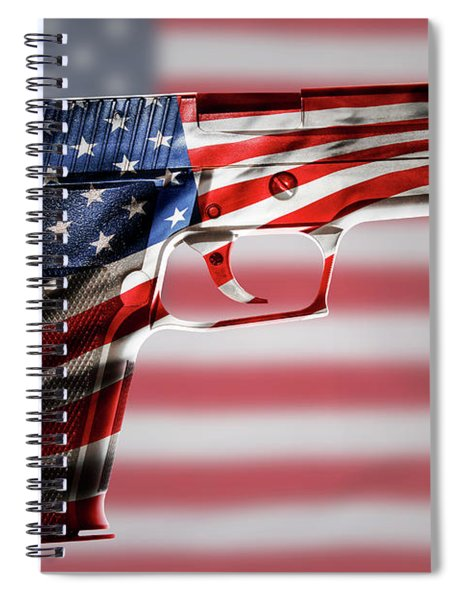 Usa Gun 1 Spiral Notebook