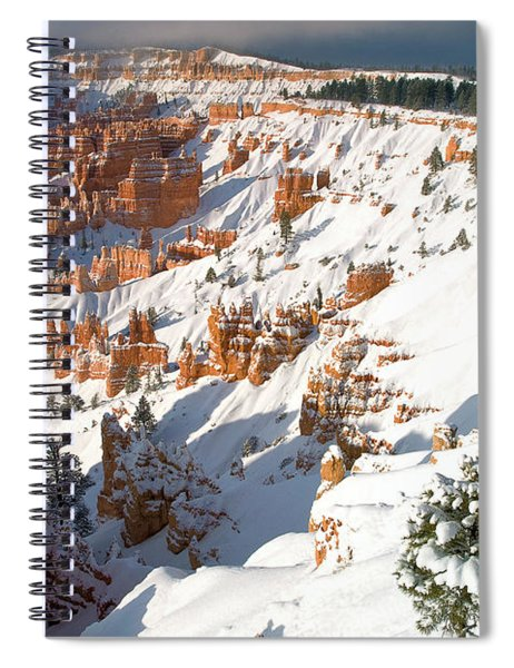 Winter Sunrise Bryce Canyon National Park Utah Spiral Notebook