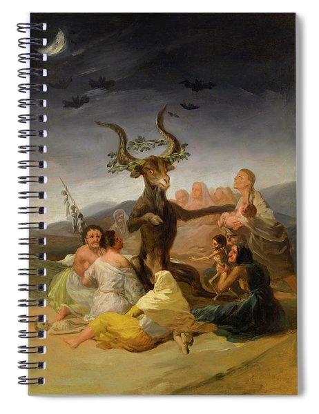 Witches Sabbath Spiral Notebook