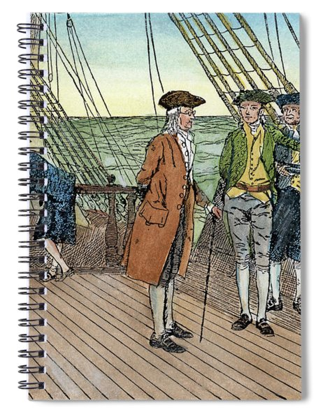 Benjamin Franklin, 1706-1790 Spiral Notebook