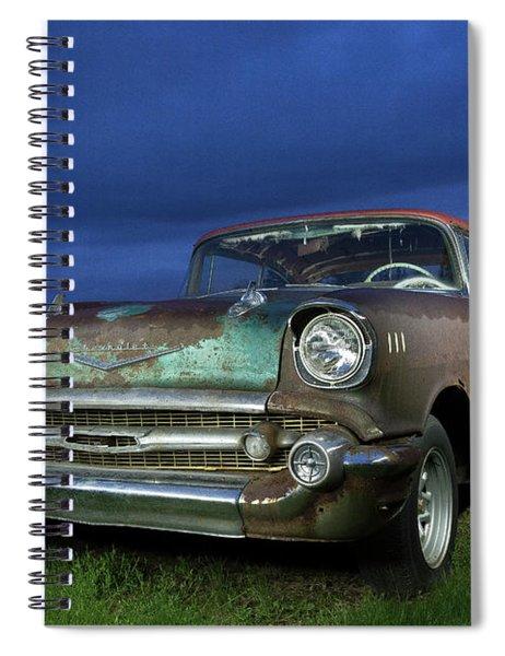 57' Chevrolet Spiral Notebook