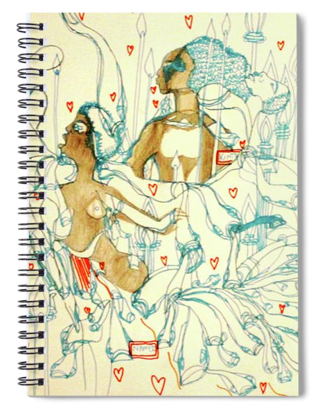 Kintu And Nambi  Folktale Spiral Notebook