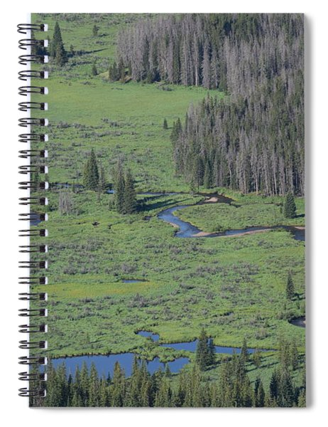 Scenery Rocky Mountain Np Co Spiral Notebook