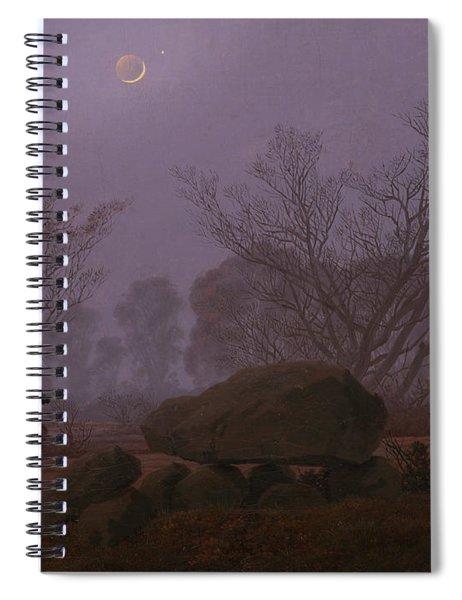 A Walk At Dusk Spiral Notebook