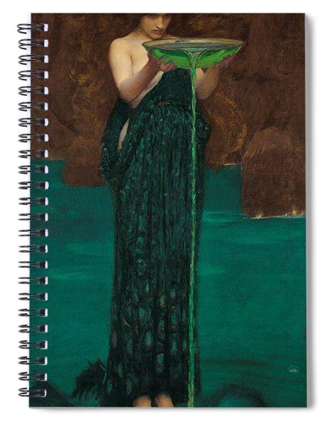 Circe Invidiosa Spiral Notebook