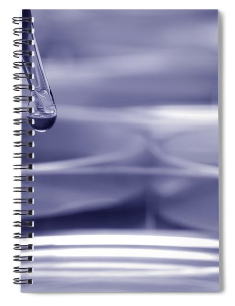 Laboratory Petri Dishes In Science Research Lab Spiral Notebook