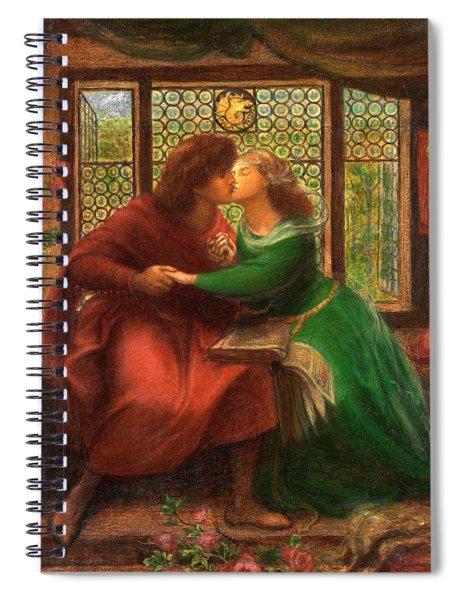 Paolo And Francesca Da Rimini Spiral Notebook