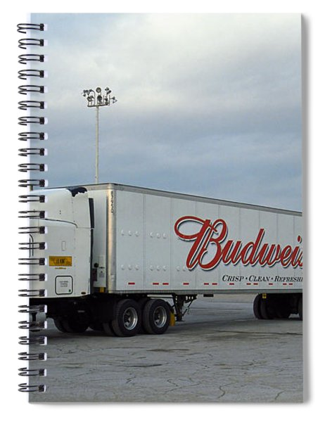 Route 66 - Dixie Truckers Home Spiral Notebook