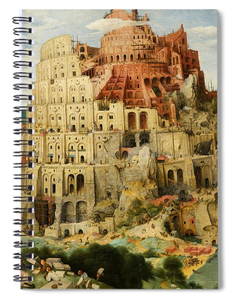 The Tower Of Babel  Spiral Notebook