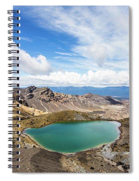 Tongariro Alpine Crossing In New Zealand Spiral Notebook