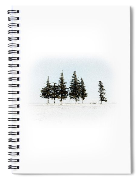 6 Trees Spiral Notebook