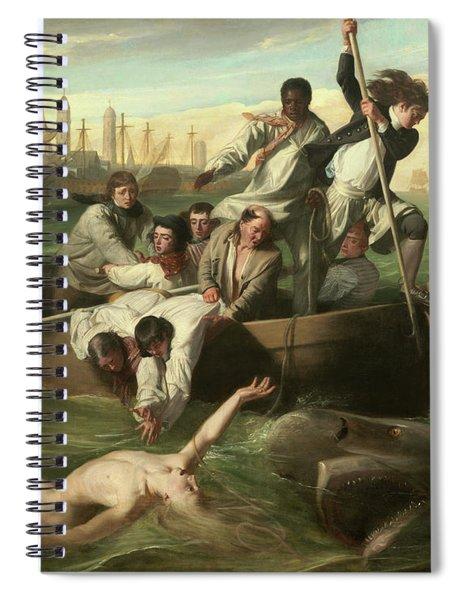 Watson And The Shark Spiral Notebook
