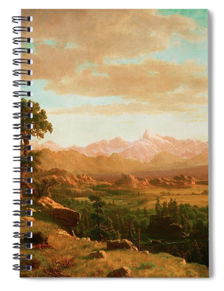 Wind River Country Spiral Notebook