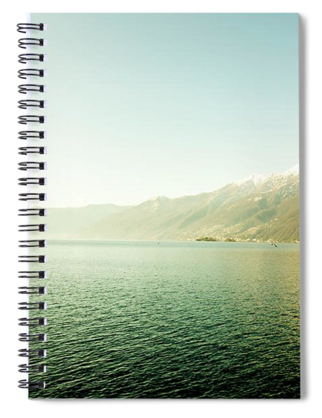 Alpine Lake Spiral Notebook
