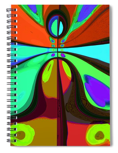 60s Free Love Spiral Notebook