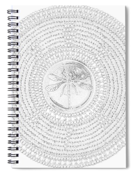 63-041209 Red Dragonfly Spiral Notebook
