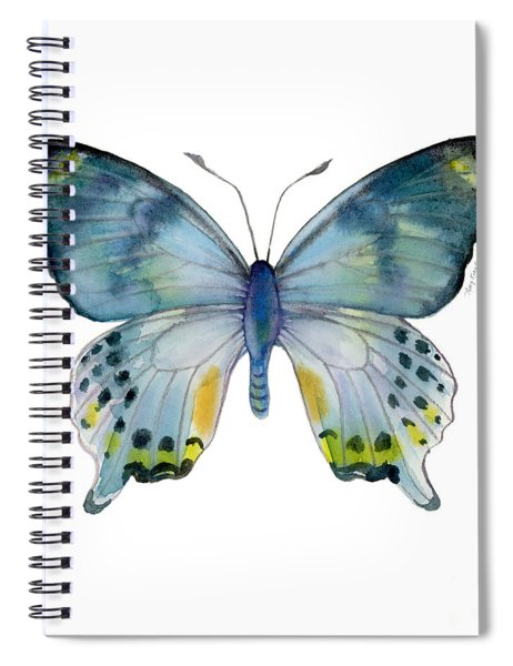 68 Laglaizei Butterfly Spiral Notebook