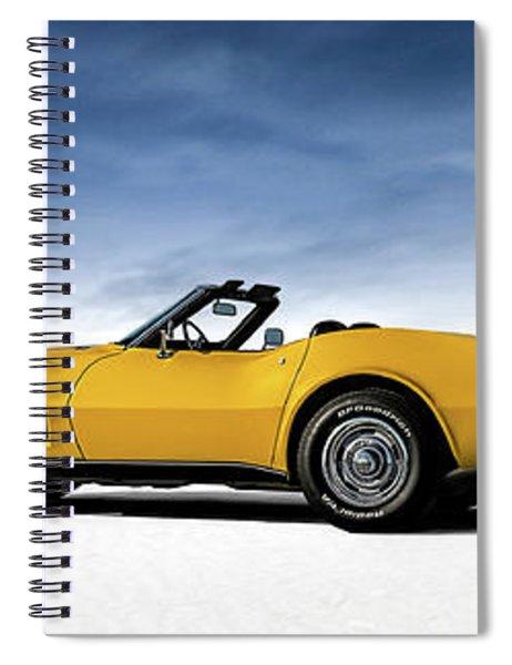 '69 Corvette Sting Ray Spiral Notebook