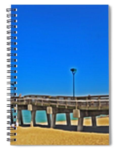 6x1 Venice Florida Beach Pier Spiral Notebook