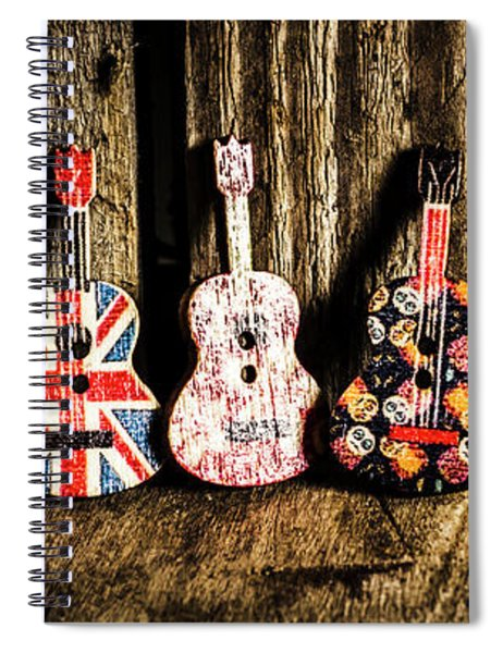 7 Continents Of Sounds Spiral Notebook