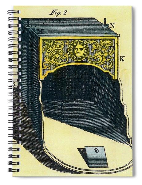 Franklin Stove Spiral Notebook