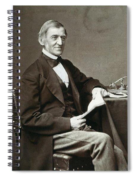 Ralph Waldo Emerson Spiral Notebook