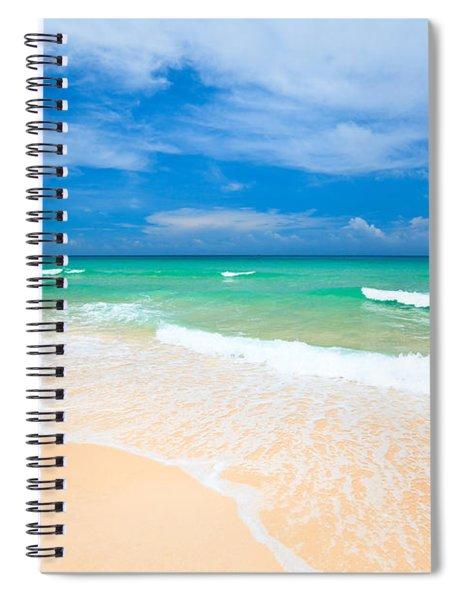 Sandy Beach Spiral Notebook
