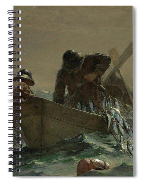 The Herring Net Spiral Notebook