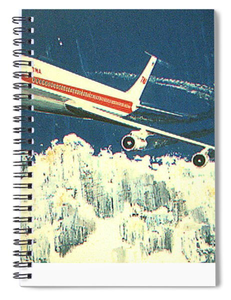 707 In The Air Spiral Notebook