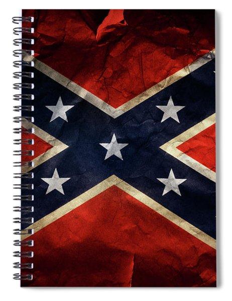 Confederate Flag 9 Spiral Notebook