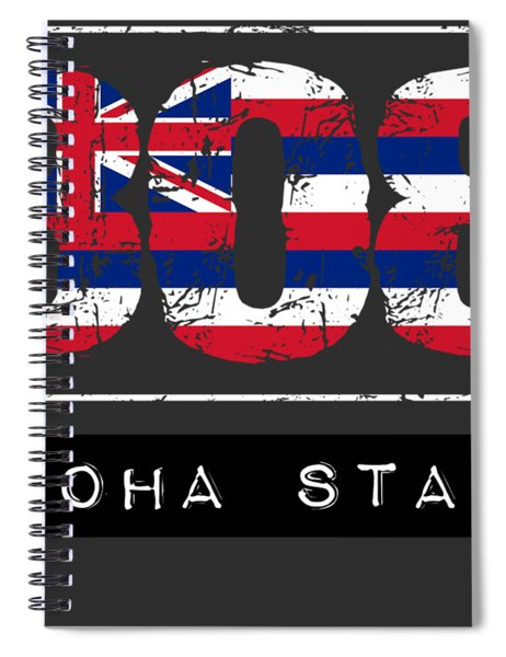 808 Aloha State By Hawaii Nei All Day Spiral Notebook