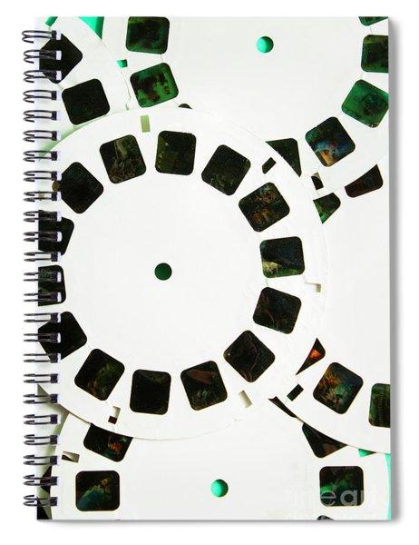 80s Toy Slide Show Fun Spiral Notebook