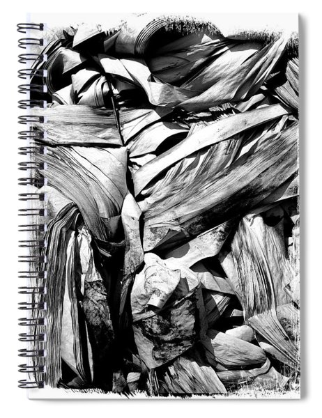 Compressed Pile Of Paper Products Spiral Notebook