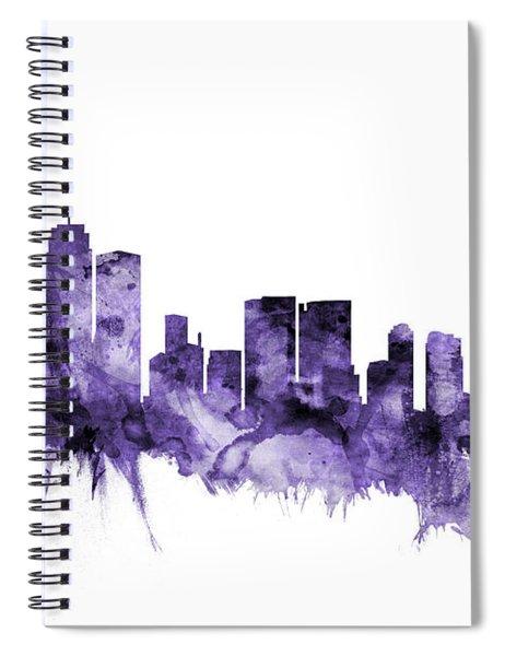 Sydney Australia Skyline Spiral Notebook