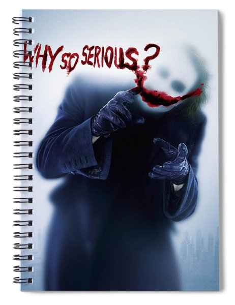 The Dark Knight 2008  Spiral Notebook