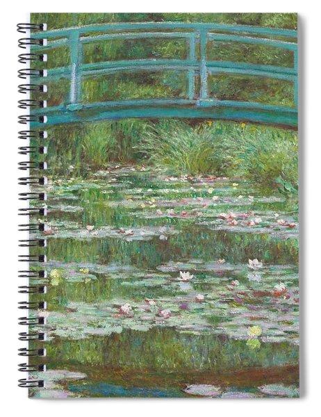 The Japanese Footbridge Spiral Notebook