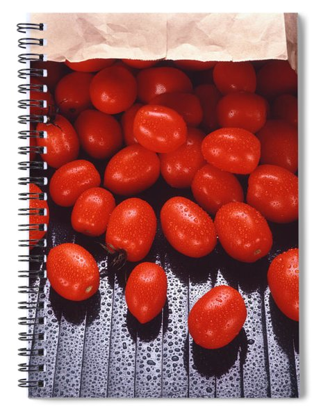 A Bag Of Tomatoes Spiral Notebook