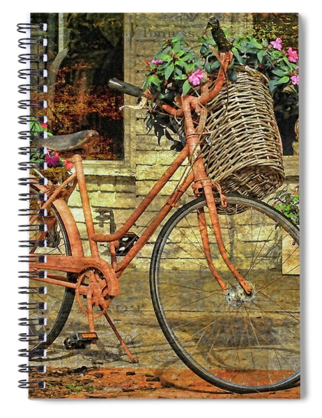 A Basketful Of Spring Spiral Notebook