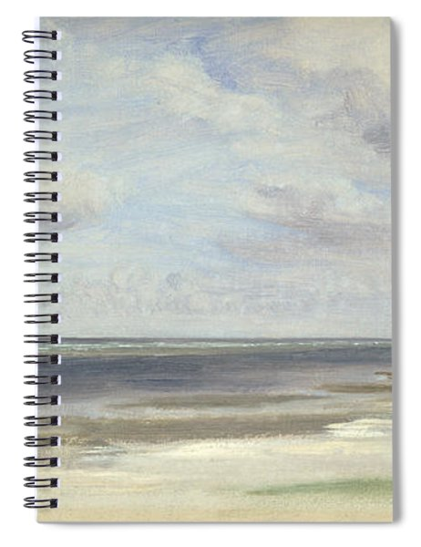 A Beach On The Baltic Sea At Laboe Spiral Notebook