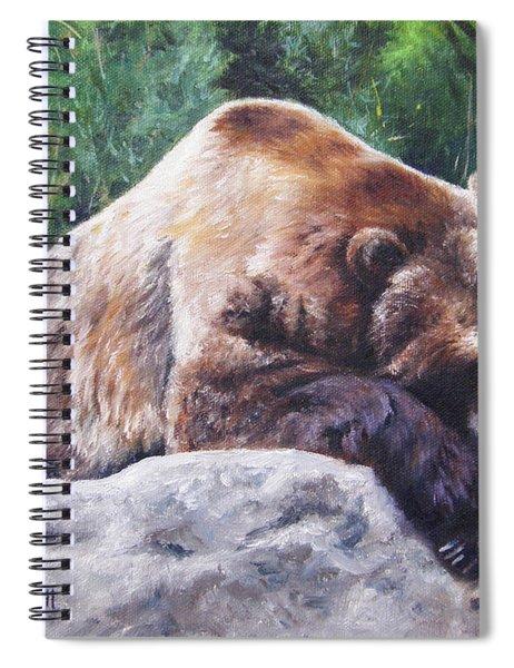 A Bear Of A Prayer Spiral Notebook