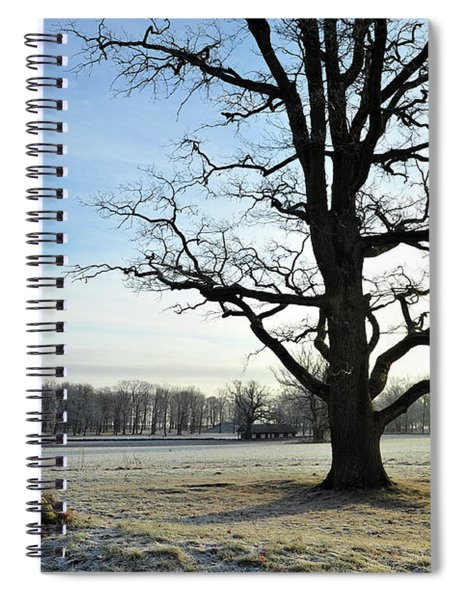 A Beautiful Day In Viking Land Spiral Notebook