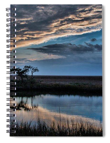 A Beautiful Evening Spiral Notebook